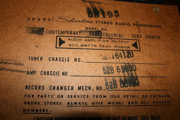 antique radio forums u2022 view topic sears silvertone stereo radio rh antiqueradios com Leviton GFCI Wiring-Diagram Patron Pro Audio Wiring Diagram